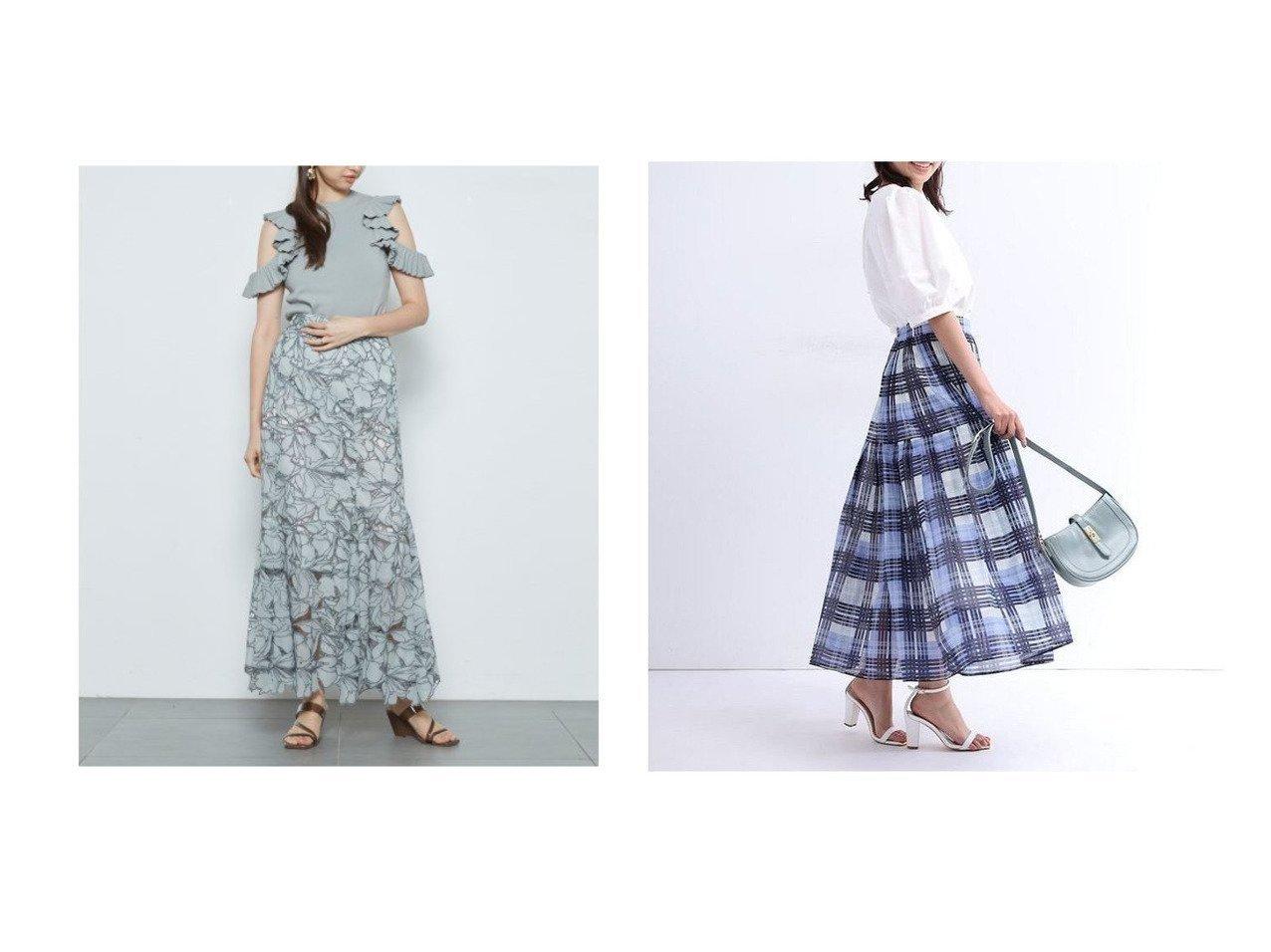 【SNIDEL/スナイデル】のカッティングレースマーメイドスカート&【JUSGLITTY/ジャスグリッティー】のシアーチェックプリーツスカート 【スカート】おすすめ!人気、トレンド・レディースファッションの通販 おすすめで人気の流行・トレンド、ファッションの通販商品 インテリア・家具・メンズファッション・キッズファッション・レディースファッション・服の通販 founy(ファニー) https://founy.com/ ファッション Fashion レディースファッション WOMEN スカート Skirt プリーツスカート Pleated Skirts Aライン/フレアスカート Flared A-Line Skirts シアー フェミニン プリーツ プレーン インナー カッティング ギャザー シフォン シンプル スマート フレア ヘムライン マーメイド モノトーン レース おすすめ Recommend |ID:crp329100000040800