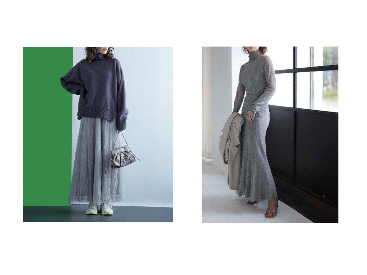 【Mila Owen/ミラオーウェン】のワッシャーチュールロングスカート&【FRAY I.D/フレイ アイディー】のラメシアーニットスカート 【スカート】おすすめ!人気、トレンド・レディースファッションの通販 おすすめで人気の流行・トレンド、ファッションの通販商品 インテリア・家具・メンズファッション・キッズファッション・レディースファッション・服の通販 founy(ファニー) https://founy.com/ ファッション Fashion レディースファッション WOMEN スカート Skirt ロングスカート Long Skirt エレガント シンプル スマート チュール ロング ワッシャー アクリル プリーツ 再入荷 Restock/Back in Stock/Re Arrival 鹿の子 |ID:crp329100000040806