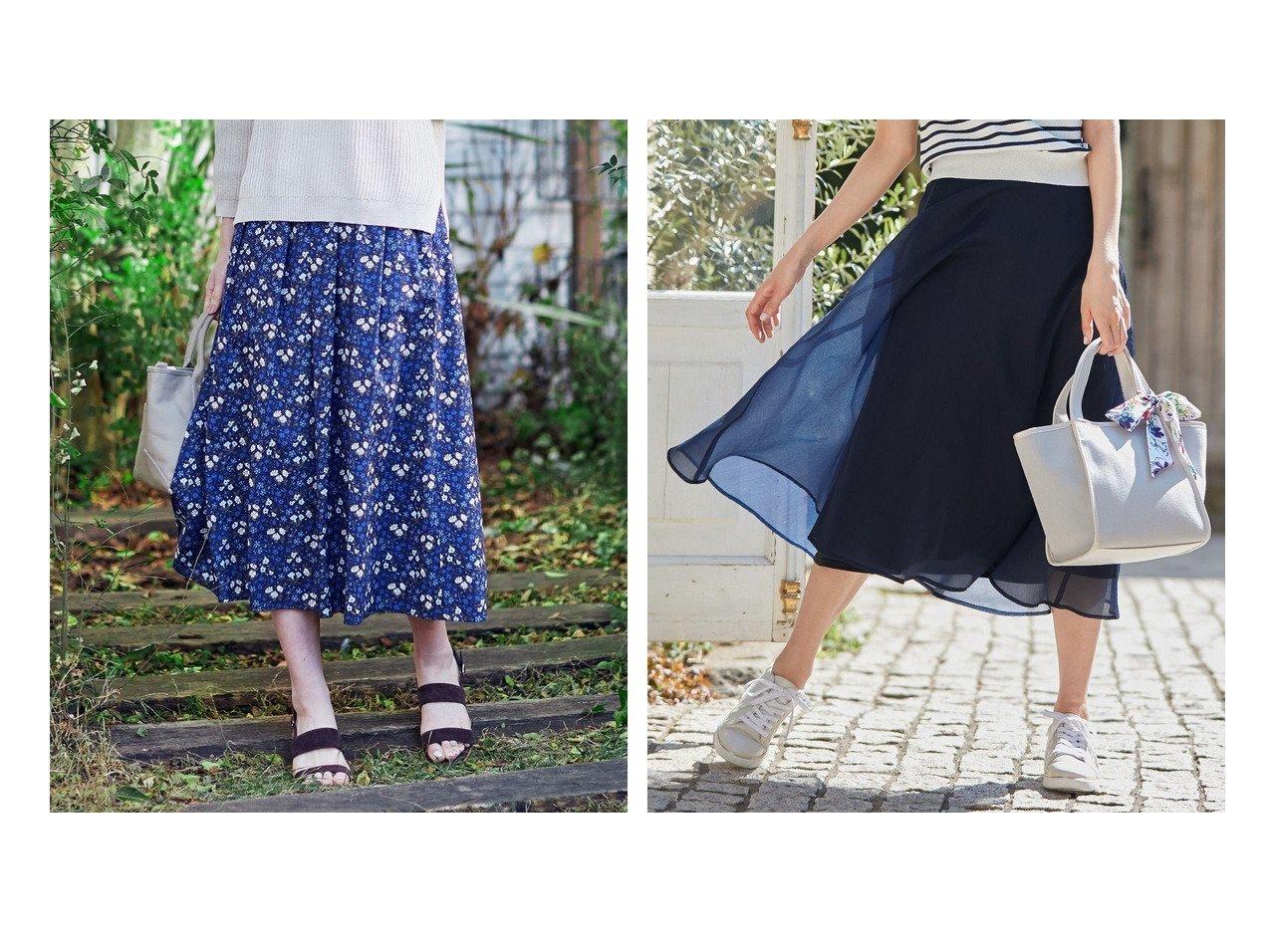 【J.PRESS/ジェイ プレス】の【洗える】リバティプリント スカート&【any SiS/エニィ スィス】の【洗える】エアリーシアー スカート 【スカート】おすすめ!人気、トレンド・レディースファッションの通販 おすすめで人気の流行・トレンド、ファッションの通販商品 インテリア・家具・メンズファッション・キッズファッション・レディースファッション・服の通販 founy(ファニー) https://founy.com/ ファッション Fashion レディースファッション WOMEN スカート Skirt 送料無料 Free Shipping オーガンジー シアー フレア ミモレ 洗える ギャザー セットアップ ドレープ プリント ボタニカル |ID:crp329100000040807