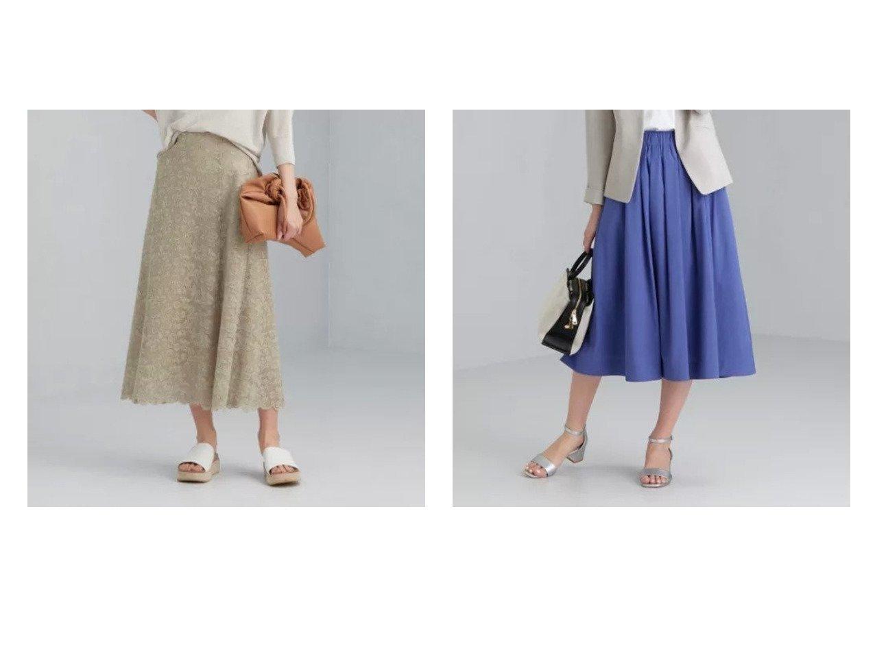 【green label relaxing / UNITED ARROWS/グリーンレーベル リラクシング / ユナイテッドアローズ】のCS P ブロード タック フレア MID スカート&FFC クラフト レース セミフレア スカート 【スカート】おすすめ!人気、トレンド・レディースファッションの通販 おすすめで人気の流行・トレンド、ファッションの通販商品 インテリア・家具・メンズファッション・キッズファッション・レディースファッション・服の通販 founy(ファニー) https://founy.com/ ファッション Fashion レディースファッション WOMEN スカート Skirt Aライン/フレアスカート Flared A-Line Skirts おすすめ Recommend シンプル フレア ブロード 春 Spring クラシカル サマー ショート スカラップ フェミニン マキシ レース ロング |ID:crp329100000040819