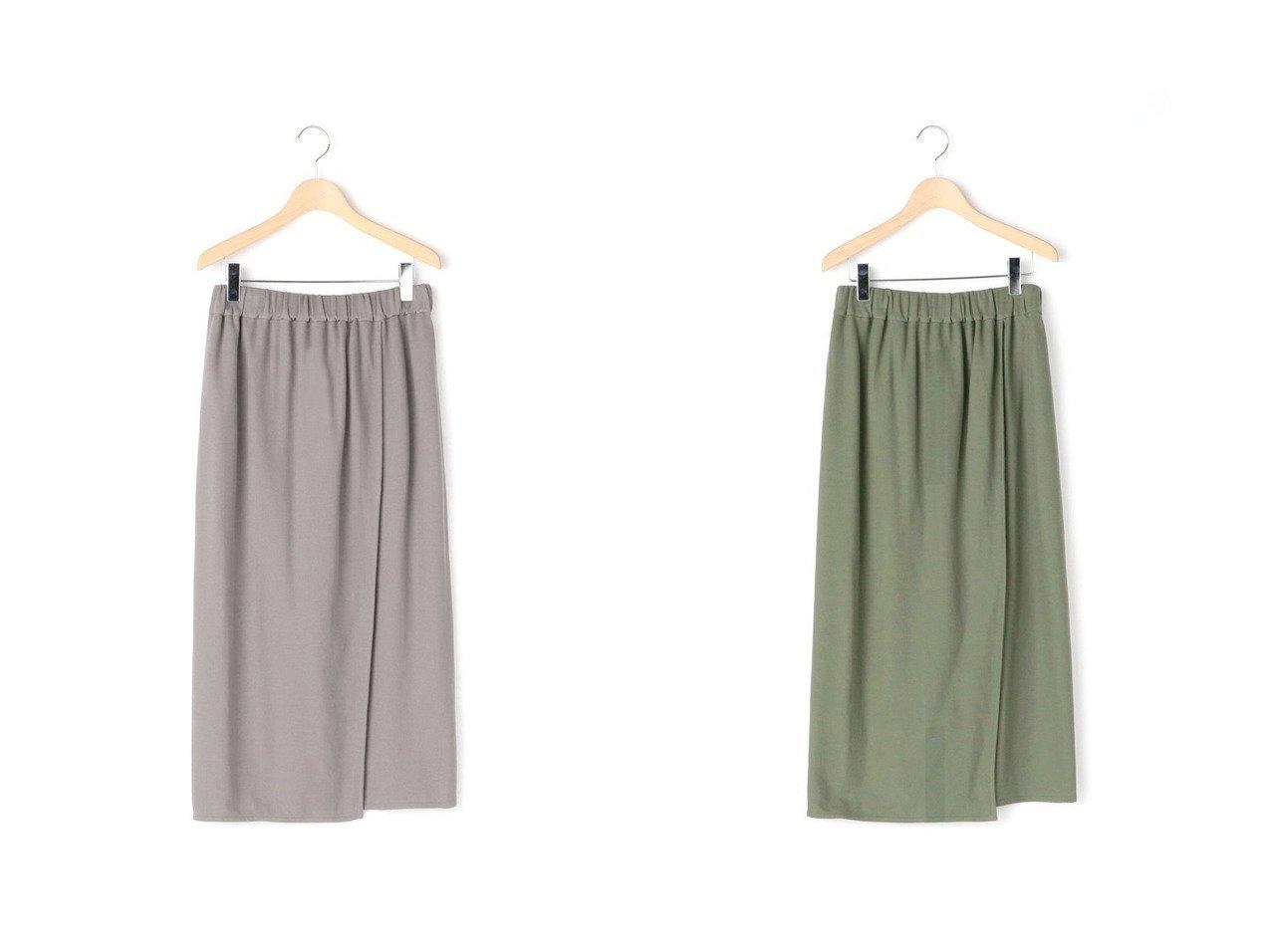 【Bshop/ビショップ】の【handvaerk】ピケラップスカート WOMEN 【スカート】おすすめ!人気、トレンド・レディースファッションの通販 おすすめで人気の流行・トレンド、ファッションの通販商品 インテリア・家具・メンズファッション・キッズファッション・レディースファッション・服の通販 founy(ファニー) https://founy.com/ ファッション Fashion レディースファッション WOMEN スカート Skirt ロングスカート Long Skirt S/S・春夏 SS・Spring/Summer ラップ ロング 春 Spring |ID:crp329100000040826