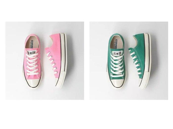 【green label relaxing / UNITED ARROWS/グリーンレーベル リラクシング / ユナイテッドアローズ】の[ コンバース ] CONVERSE SC US C OX スニーカー 【シューズ・靴】おすすめ!人気、トレンド・レディースファッションの通販 おすすめ人気トレンドファッション通販アイテム 人気、トレンドファッション・服の通販 founy(ファニー)  ファッション Fashion レディースファッション WOMEN ウォッシュ キャンバス シューズ シンプル スニーカー 定番 Standard フォルム |ID:crp329100000040831
