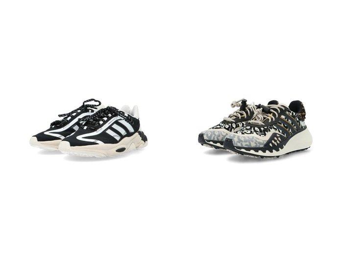 【adidas Originals/アディダス オリジナルス】のアディダスオリジナルス&オズウィーゴ ピュア Ozweego Pure アディダスオリジナルス 【シューズ・靴】おすすめ!人気、トレンド・レディースファッションの通販 おすすめ人気トレンドファッション通販アイテム 人気、トレンドファッション・服の通販 founy(ファニー) ファッション Fashion レディースファッション WOMEN クッション シューズ スニーカー スポーツ スリッポン フィット ミックス 厚底 |ID:crp329100000040837