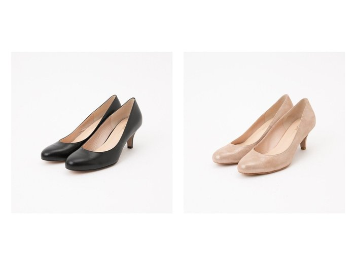 【Piche Abahouse/ピシェ アバハウス】の6センチヒール ラウンドパンプス 【シューズ・靴】おすすめ!人気、トレンド・レディースファッションの通販 おすすめ人気トレンドファッション通販アイテム 人気、トレンドファッション・服の通販 founy(ファニー)  ファッション Fashion レディースファッション WOMEN おすすめ Recommend クッション シューズ シンプル フィット フォーマル ベーシック ラウンド 人気 定番 Standard |ID:crp329100000040839