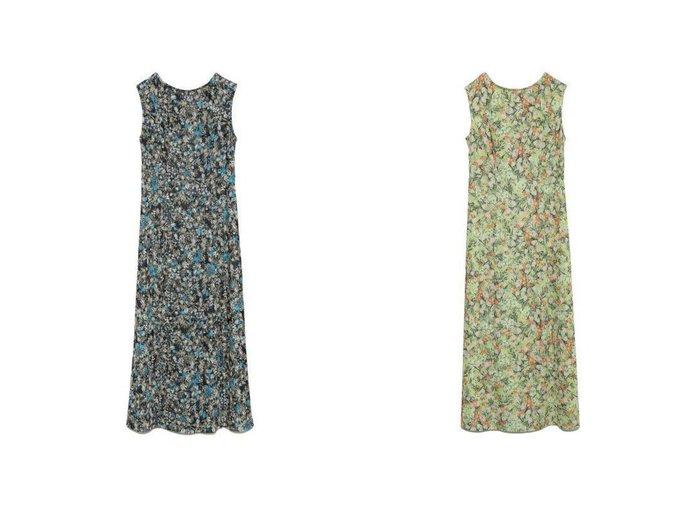 【Lily Brown/リリーブラウン】のフラワーバックリボンカットワンピース 【ワンピース・ドレス】おすすめ!人気、トレンド・レディースファッションの通販 おすすめ人気トレンドファッション通販アイテム 人気、トレンドファッション・服の通販 founy(ファニー) ファッション Fashion レディースファッション WOMEN ワンピース Dress スマート スリット バランス フラワー フロント プリント リボン  ID:crp329100000040886