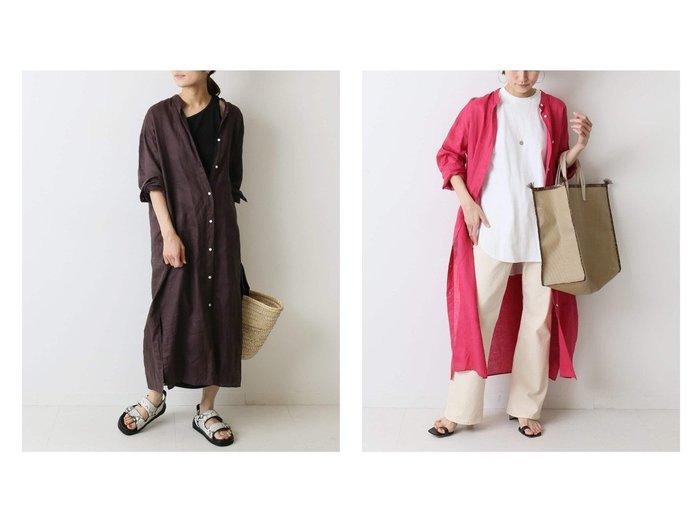 【FRAMeWORK/フレームワーク】のFRENCH LINEN シャツワンピース 【ワンピース・ドレス】おすすめ!人気、トレンド・レディースファッションの通販 おすすめ人気トレンドファッション通販アイテム 人気、トレンドファッション・服の通販 founy(ファニー) ファッション Fashion レディースファッション WOMEN ワンピース Dress シャツワンピース Shirt Dresses インナー ギャザー ショルダー シンプル スリット ドロップ 人気 フレンチ ボトム ポケット リネン 2021年 2021 S/S・春夏 SS・Spring/Summer 2021春夏・S/S SS/Spring/Summer/2021 |ID:crp329100000040917