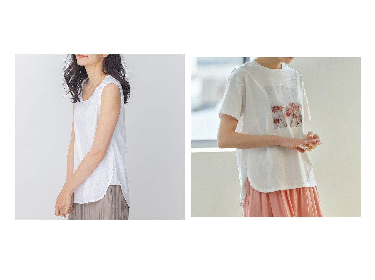 【JIYU-KU/自由区】の【Sサイズ有】FUNCTIONAL JERSEYノースリーブ タンクトップ&【UNFILO・Sサイズ有】オーガニックコットンTEA TEE Tシャツ 【トップス・カットソー】おすすめ!人気、トレンド・レディースファッションの通販 おすすめで人気の流行・トレンド、ファッションの通販商品 インテリア・家具・メンズファッション・キッズファッション・レディースファッション・服の通販 founy(ファニー) https://founy.com/ ファッション Fashion レディースファッション WOMEN トップス・カットソー Tops/Tshirt キャミソール / ノースリーブ No Sleeves シャツ/ブラウス Shirts/Blouses ロング / Tシャツ T-Shirts カットソー Cut and Sewn インナー コンパクト シンプル ストレッチ タンク ノースリーブ バランス 送料無料 Free Shipping |ID:crp329100000040976