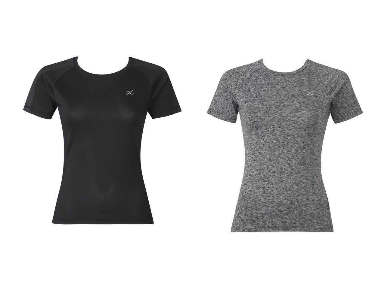 【CW-X/シーダブリューエックス】の【WOMEN】アウター Tシャツ 半袖ワコール&【WOMEN】アウター Tシャツ 半袖ワコール スポーツウェア・ヨガ・運動・ダイエットグッズなどのおすすめ!人気トレンド・ファッション通販 おすすめで人気の流行・トレンド、ファッションの通販商品 インテリア・家具・メンズファッション・キッズファッション・レディースファッション・服の通販 founy(ファニー) https://founy.com/ ファッション Fashion レディースファッション WOMEN アウター Coat Outerwear トップス・カットソー Tops/Tshirt シャツ/ブラウス Shirts/Blouses ロング / Tシャツ T-Shirts 送料無料 Free Shipping おすすめ Recommend プリント 半袖 抗菌  ID:crp329100000041120