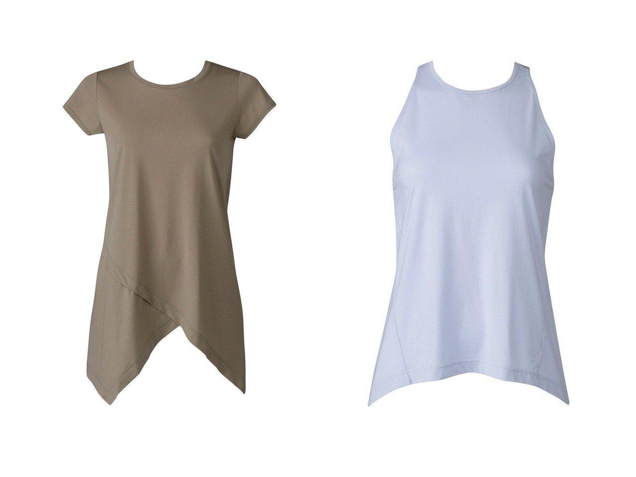 【CW-X/シーダブリューエックス】の【WOMEN】YOGAアウター ロングTシャツ 半袖ワコール&【WOMEN】YOGAアウター Tシャツ ノースリーブワコール スポーツウェア・ヨガ・運動・ダイエットグッズなどのおすすめ!人気トレンド・ファッション通販 おすすめで人気の流行・トレンド、ファッションの通販商品 インテリア・家具・メンズファッション・キッズファッション・レディースファッション・服の通販 founy(ファニー) https://founy.com/ ファッション Fashion レディースファッション WOMEN アウター Coat Outerwear トップス・カットソー Tops/Tshirt シャツ/ブラウス Shirts/Blouses ロング / Tシャツ T-Shirts キャミソール / ノースリーブ No Sleeves 送料無料 Free Shipping アシンメトリー ロング 半袖 ノースリーブ  ID:crp329100000041132