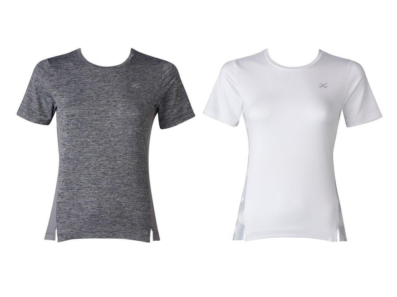 【CW-X/シーダブリューエックス】の【WOMEN】アウター Tシャツ 半袖ワコール スポーツウェア・ヨガ・運動・ダイエットグッズなどのおすすめ!人気トレンド・ファッション通販 おすすめで人気の流行・トレンド、ファッションの通販商品 インテリア・家具・メンズファッション・キッズファッション・レディースファッション・服の通販 founy(ファニー) https://founy.com/ ファッション Fashion レディースファッション WOMEN アウター Coat Outerwear トップス・カットソー Tops/Tshirt シャツ/ブラウス Shirts/Blouses ロング / Tシャツ T-Shirts 送料無料 Free Shipping なめらか ストレッチ プリント 半袖 抗菌 |ID:crp329100000041136