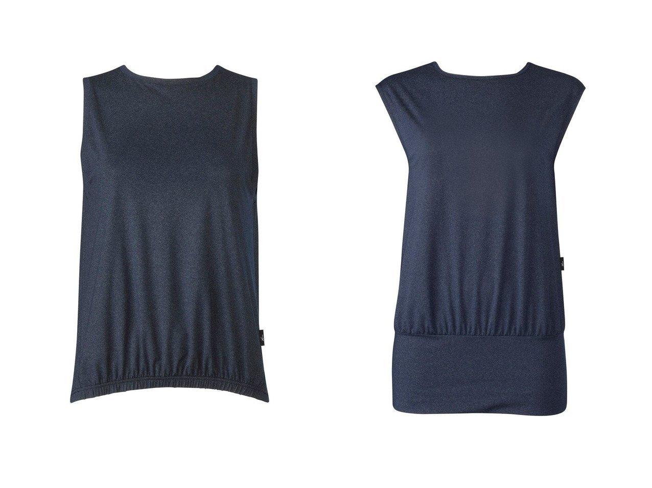 【CW-X/シーダブリューエックス】の【WOMEN】PRIME FLEX ロングTシャツ レディースワコール&【WOMEN】PRIME FLEX ノースリーブ レディースワコール スポーツウェア・ヨガ・運動・ダイエットグッズなどのおすすめ!人気トレンド・ファッション通販 おすすめで人気の流行・トレンド、ファッションの通販商品 インテリア・家具・メンズファッション・キッズファッション・レディースファッション・服の通販 founy(ファニー) https://founy.com/ ファッション Fashion レディースファッション WOMEN トップス・カットソー Tops/Tshirt キャミソール / ノースリーブ No Sleeves シャツ/ブラウス Shirts/Blouses ロング / Tシャツ T-Shirts 送料無料 Free Shipping ギャザー ノースリーブ ストレッチ スリット ロング 再入荷 Restock/Back in Stock/Re Arrival 半袖 |ID:crp329100000041140