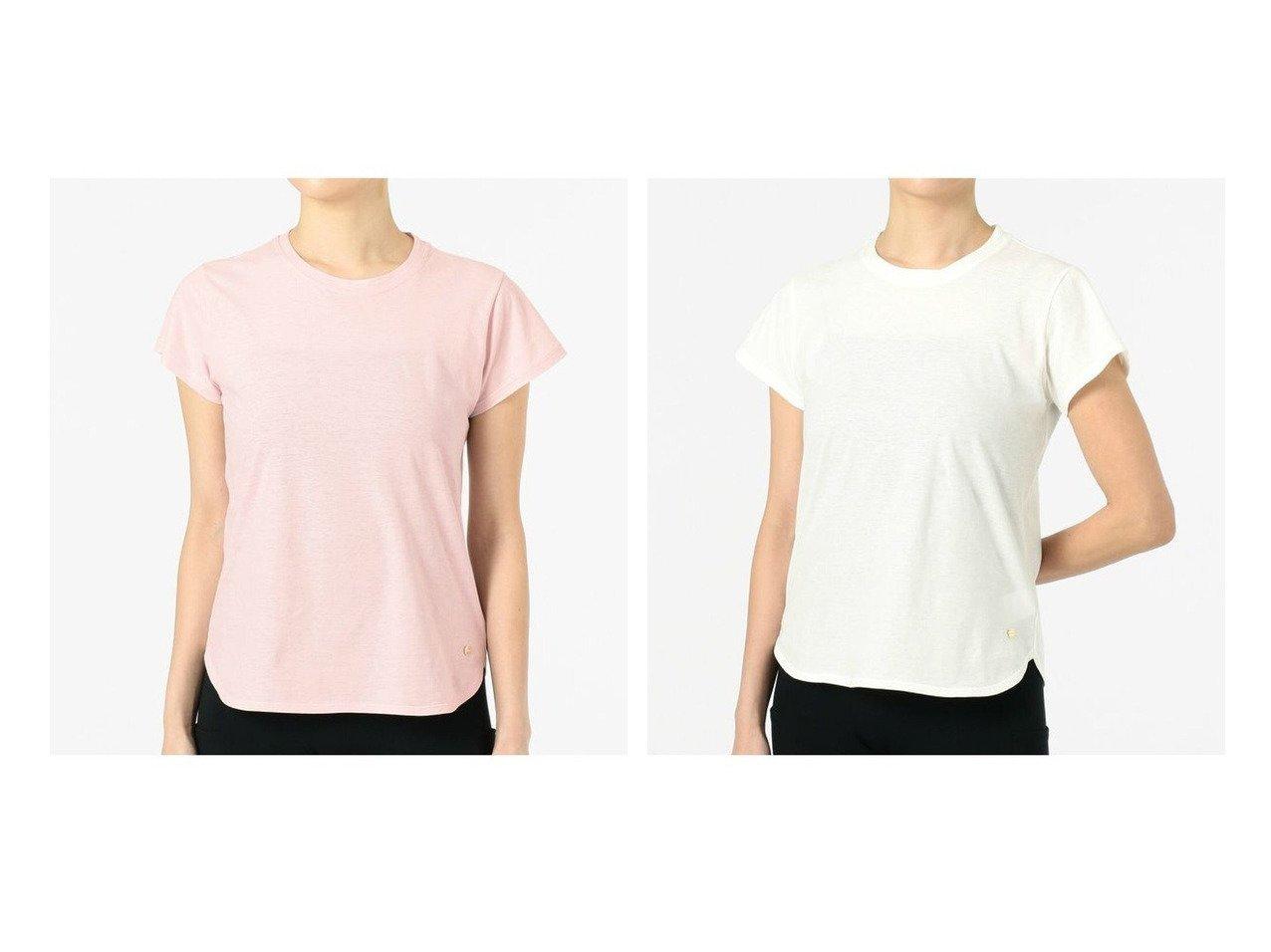 【Chacott/チャコット】のコンパクトTシャツ スポーツウェア・ヨガ・運動・ダイエットグッズなどのおすすめ!人気トレンド・ファッション通販 おすすめで人気の流行・トレンド、ファッションの通販商品 インテリア・家具・メンズファッション・キッズファッション・レディースファッション・服の通販 founy(ファニー) https://founy.com/ ファッション Fashion レディースファッション WOMEN トップス・カットソー Tops/Tshirt シャツ/ブラウス Shirts/Blouses ロング / Tシャツ T-Shirts コンパクト シンプル ストレッチ 抗菌 |ID:crp329100000041145