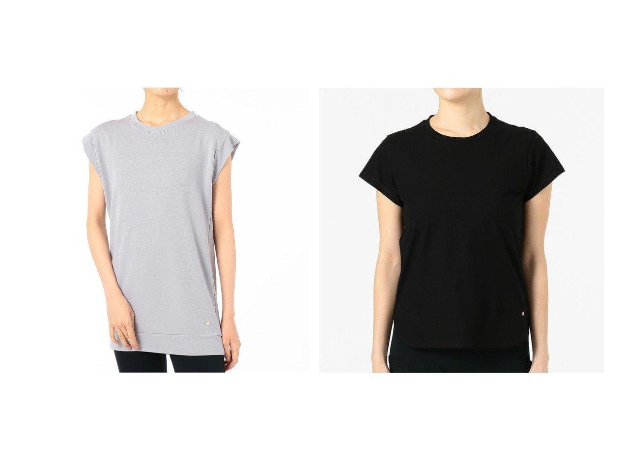 【Chacott/チャコット】のバックタックTシャツ&コンパクトTシャツ スポーツウェア・ヨガ・運動・ダイエットグッズなどのおすすめ!人気トレンド・ファッション通販 おすすめで人気の流行・トレンド、ファッションの通販商品 インテリア・家具・メンズファッション・キッズファッション・レディースファッション・服の通販 founy(ファニー) https://founy.com/ ファッション Fashion レディースファッション WOMEN トップス・カットソー Tops/Tshirt シャツ/ブラウス Shirts/Blouses ロング / Tシャツ T-Shirts ストレッチ ノースリーブ レギンス 再入荷 Restock/Back in Stock/Re Arrival コンパクト シンプル 抗菌 |ID:crp329100000041147