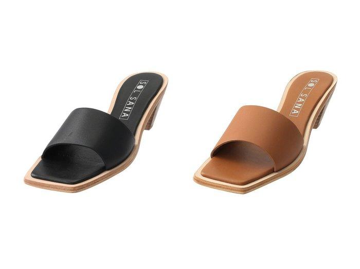 【JET/ジェット】の【SOL SANA】Logan Muleサンダル 【シューズ・靴】おすすめ!人気、トレンド・レディースファッションの通販 おすすめ人気トレンドファッション通販アイテム 人気、トレンドファッション・服の通販 founy(ファニー) ファッション Fashion レディースファッション WOMEN なめらか サンダル シンプル |ID:crp329100000041261
