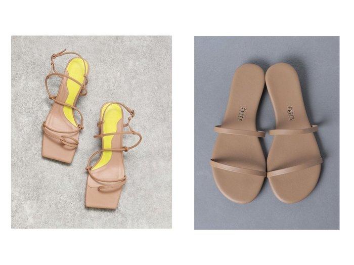 【UNITED ARROWS/ユナイテッドアローズ】のTKEES(ティキーズ) GEMMA サンダル&【JEANASiS/ジーナシス】のラインアシメサンダル 【シューズ・靴】おすすめ!人気、トレンド・レディースファッションの通販 おすすめ人気トレンドファッション通販アイテム 人気、トレンドファッション・服の通販 founy(ファニー) ファッション Fashion レディースファッション WOMEN おすすめ Recommend エレガント コレクション サンダル シューズ ベーシック ミュール ラップ リゾート NEW・新作・新着・新入荷 New Arrivals |ID:crp329100000041276