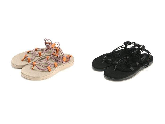 【TEVA/テバ】のボヤインフィニティサンダル 【シューズ・靴】おすすめ!人気、トレンド・レディースファッションの通販 おすすめ人気トレンドファッション通販アイテム 人気、トレンドファッション・服の通販 founy(ファニー) ファッション Fashion レディースファッション WOMEN サンダル シューズ スタイリッシュ ミュール レース 抗菌 |ID:crp329100000041277