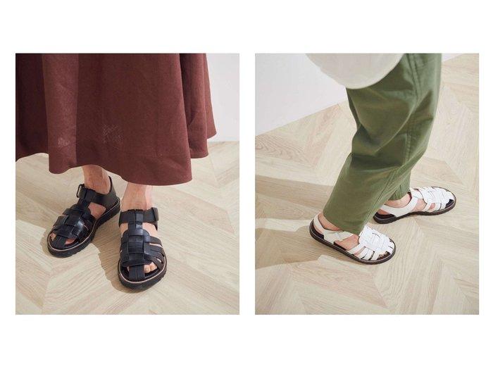 【ROPE'/ロペ】のグルカベルクロサンダル 【シューズ・靴】おすすめ!人気、トレンド・レディースファッションの通販 おすすめ人気トレンドファッション通販アイテム 人気、トレンドファッション・服の通販 founy(ファニー) ファッション Fashion レディースファッション WOMEN サンダル シューズ ミュール |ID:crp329100000041281