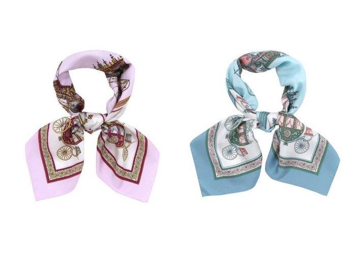 【YOKOHAMA TRADITIONAL SCARF/伝統横濱スカーフ】の馬車行列(CM5-438) 伝統横濱スカーフ 大判 シルクツイル スカーフ おすすめ!人気、トレンド・レディースファッションの通販 おすすめ人気トレンドファッション通販アイテム 人気、トレンドファッション・服の通販 founy(ファニー) ファッション Fashion レディースファッション WOMEN ストール Scarves マフラー Mufflers シルク スカーフ ストール ドレープ マフラー |ID:crp329100000041430