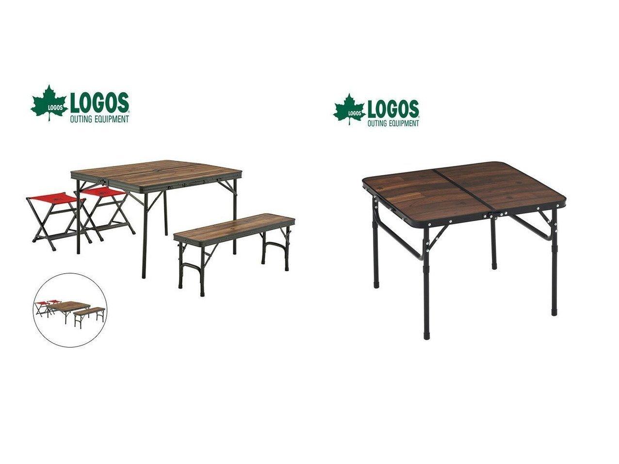 【LOGOS/ロゴス】のTracksleeper ベンチ&チェアテーブルセット4&Tracksleeper テーブル6060 おすすめ!人気キャンプ・アウトドア用品の通販 おすすめで人気の流行・トレンド、ファッションの通販商品 インテリア・家具・メンズファッション・キッズファッション・レディースファッション・服の通販 founy(ファニー) https://founy.com/ コーティング テーブル フレーム プリント ホーム・キャンプ・アウトドア Home,Garden,Outdoor,Camping Gear キャンプ用品・アウトドア  Camping Gear & Outdoor Supplies チェア テーブル Camp Chairs, Camping Tables  ID:crp329100000041562