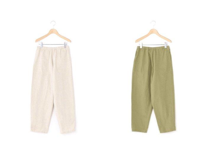 【Bshop/ビショップ】の【DANTON】コットンリネン イージーパンツ LHP SOLID WOMEN 【パンツ】おすすめ!人気、トレンド・レディースファッションの通販 おすすめ人気トレンドファッション通販アイテム 人気、トレンドファッション・服の通販 founy(ファニー) ファッション Fashion レディースファッション WOMEN パンツ Pants S/S・春夏 SS・Spring/Summer ギンガム クロップド ジーンズ ストライプ チェック テーパード デニム バランス ポケット リネン リラックス 春 Spring 無地  ID:crp329100000041643