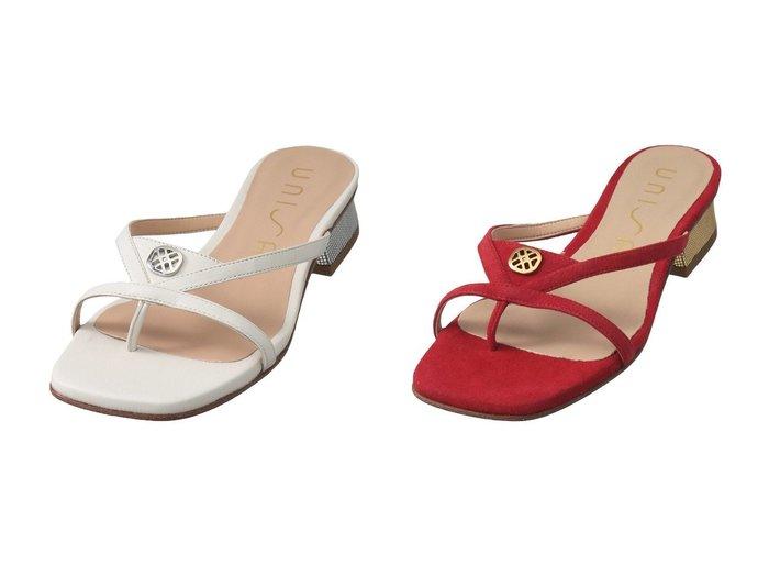 【Esmeralda/エスメラルダ】の【UNISA】モチーフストラップサンダル 【シューズ・靴】おすすめ!人気、トレンド・レディースファッションの通販 おすすめ人気トレンドファッション通販アイテム 人気、トレンドファッション・服の通販 founy(ファニー) ファッション Fashion レディースファッション WOMEN サンダル シンプル ネイティブ モチーフ ラップ |ID:crp329100000041674