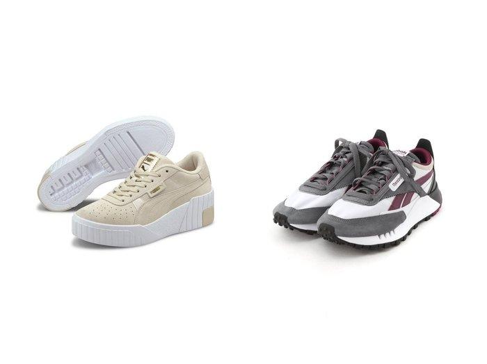 【PUMA/プーマ】のPUMA CALI WEDGE SOFT WILD WNS&【Reebok CLASSIC/リーボック】のクラシック レザー Classic Leather Legacy Shoes リーボック 【シューズ・靴】おすすめ!人気、トレンド・レディースファッションの通販 おすすめ人気トレンドファッション通販アイテム 人気、トレンドファッション・服の通販 founy(ファニー) ファッション Fashion レディースファッション WOMEN シューズ スニーカー スリッポン |ID:crp329100000041689
