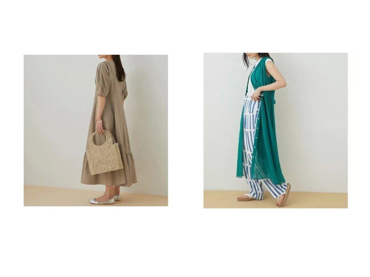 【ADAM ET ROPE'/アダム エ ロペ】のコットンボイルギャザーワンピース&【WEB限定】ボリュームスリーブドレス 【ワンピース・ドレス】おすすめ!人気、トレンド・レディースファッションの通販 おすすめで人気の流行・トレンド、ファッションの通販商品 インテリア・家具・メンズファッション・キッズファッション・レディースファッション・服の通販 founy(ファニー) https://founy.com/ ファッション Fashion レディースファッション WOMEN ワンピース Dress ドレス Party Dresses 春 Spring ギャザー 今季 サンダル スニーカー タイプライター トレンド パイピング フォルム フレア ベーシック ポケット 半袖 2021年 2021 S/S・春夏 SS・Spring/Summer 2021春夏・S/S SS/Spring/Summer/2021 おすすめ Recommend |ID:crp329100000041736