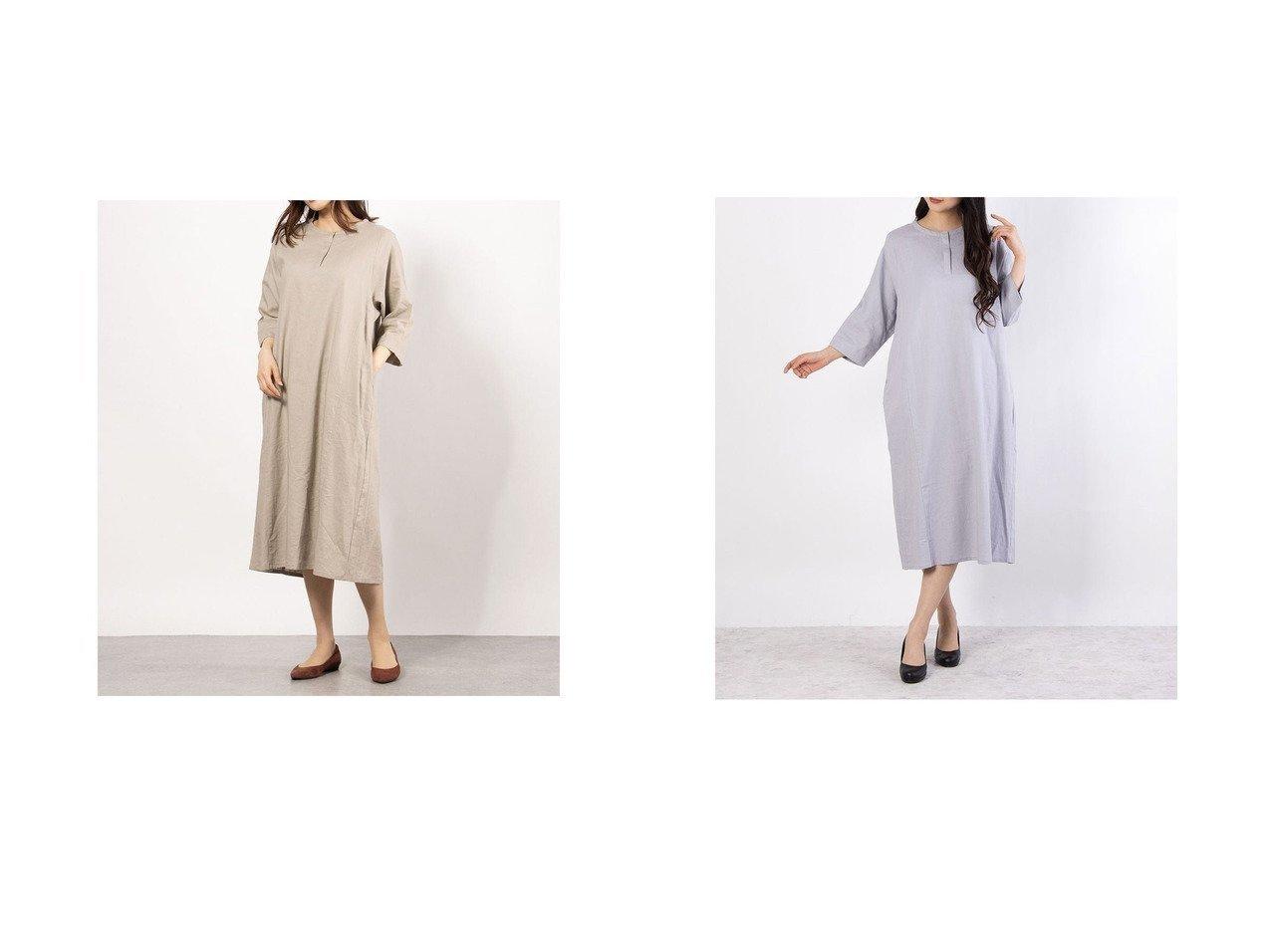 【COMME CA ISM/コムサイズム】のアッパッパ スキッパーワンピース 【ワンピース・ドレス】おすすめ!人気、トレンド・レディースファッションの通販 おすすめで人気の流行・トレンド、ファッションの通販商品 インテリア・家具・メンズファッション・キッズファッション・レディースファッション・服の通販 founy(ファニー) https://founy.com/ ファッション Fashion レディースファッション WOMEN ワンピース Dress 春 Spring スキッパー 人気 バランス ポケット リネン ワイド 2021年 2021 S/S・春夏 SS・Spring/Summer 2021春夏・S/S SS/Spring/Summer/2021  ID:crp329100000041749