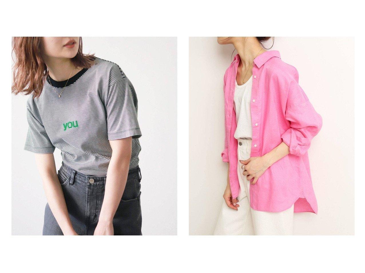 【SLOBE IENA/スローブ イエナ】のS TEE&フレンチリネンウォッシュドオーバーシャツ 【トップス・カットソー】おすすめ!人気、トレンド・レディースファッションの通販 おすすめで人気の流行・トレンド、ファッションの通販商品 インテリア・家具・メンズファッション・キッズファッション・レディースファッション・服の通販 founy(ファニー) https://founy.com/ ファッション Fashion レディースファッション WOMEN トップス・カットソー Tops/Tshirt シャツ/ブラウス Shirts/Blouses ロング / Tシャツ T-Shirts カットソー Cut and Sewn 2021年 2021 2021春夏・S/S SS/Spring/Summer/2021 S/S・春夏 SS・Spring/Summer カットソー ギンガム チェック フレンチ リネン |ID:crp329100000041768
