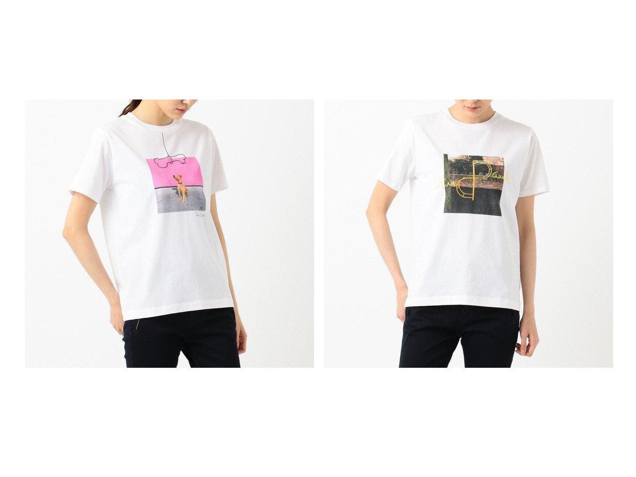 【Paul Smith/ポール スミス】の【洗える】Drawn by Paul Tシャツ 【トップス・カットソー】おすすめ!人気、トレンド・レディースファッションの通販 おすすめで人気の流行・トレンド、ファッションの通販商品 インテリア・家具・メンズファッション・キッズファッション・レディースファッション・服の通販 founy(ファニー) https://founy.com/ ファッション Fashion レディースファッション WOMEN トップス・カットソー Tops/Tshirt シャツ/ブラウス Shirts/Blouses ロング / Tシャツ T-Shirts カットソー Cut and Sewn イラスト 洗える カットソー カーディガン ハンド フロント プリント ベーシック マーメイド ワンポイント ワーク 送料無料 Free Shipping おすすめ Recommend 犬 Dog |ID:crp329100000041789
