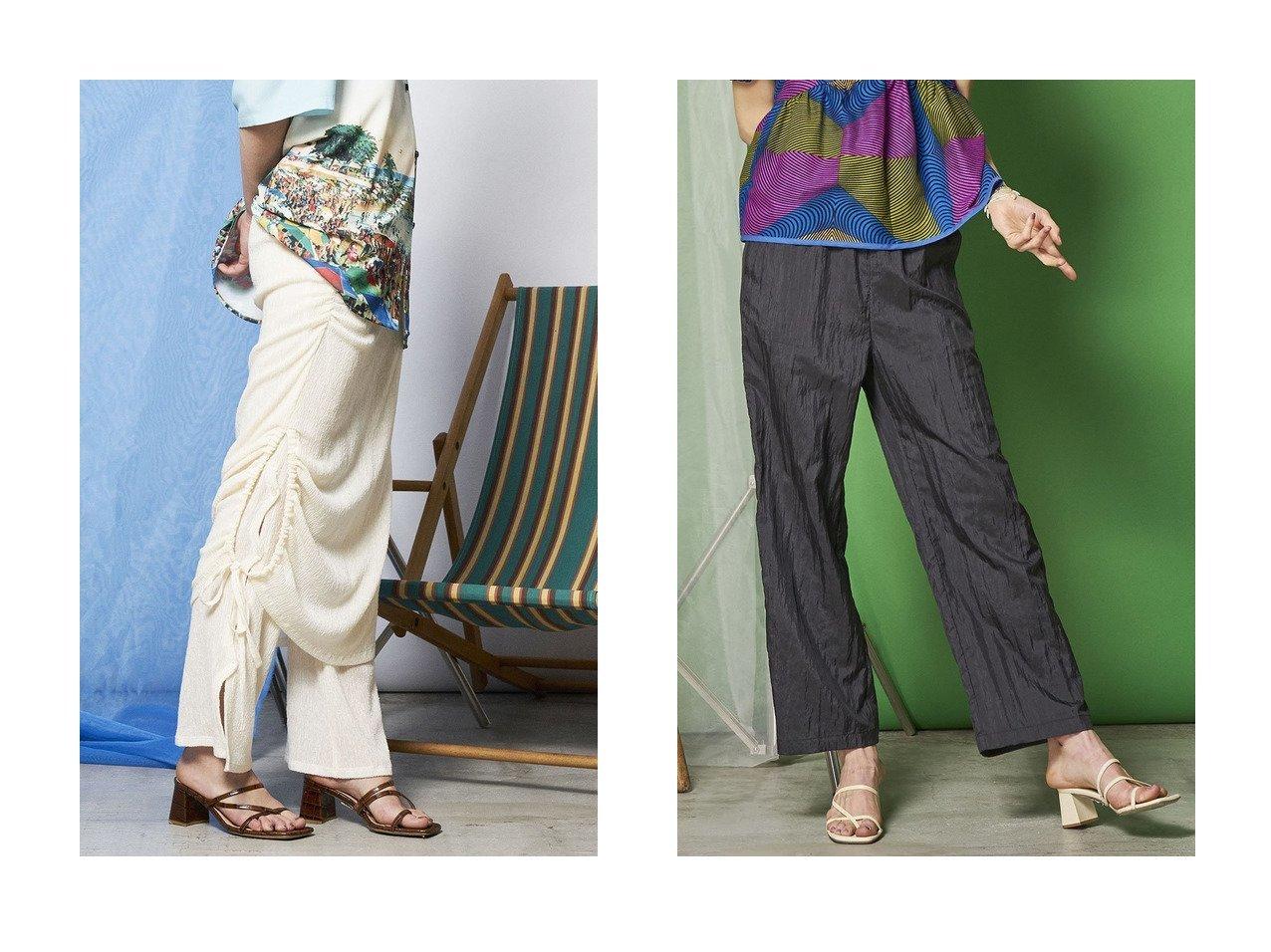 【MAISON SPECIAL/メゾンスペシャル】の3WAYレイヤードボトム&シルクブレンドワッシャーイージーパンツ 【パンツ】おすすめ!人気、トレンド・レディースファッションの通販 おすすめで人気の流行・トレンド、ファッションの通販商品 インテリア・家具・メンズファッション・キッズファッション・レディースファッション・服の通販 founy(ファニー) https://founy.com/ ファッション Fashion レディースファッション WOMEN パンツ Pants おすすめ Recommend アシンメトリー ジャージー ストレッチ スリット セットアップ セパレート ドローストリング フレア リラックス レギンス シルク ストレート ワッシャー 軽量 |ID:crp329100000041861