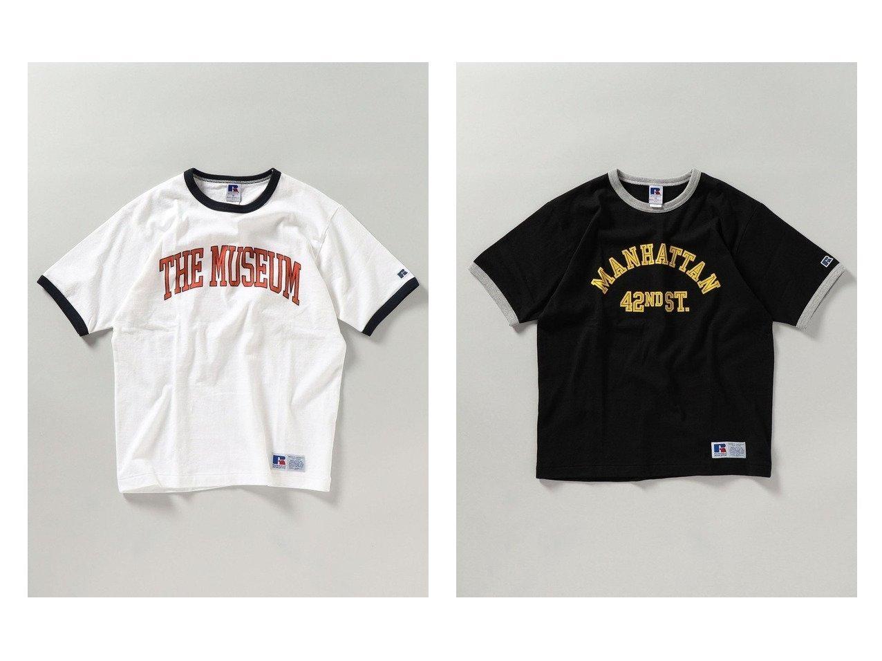 【SHIPS / MEN/シップス】の【WEB限定/SHIPS別注】RUSSELL ATHLETIC カレッジ プリント リンガー Tシャツ 【MEN】別注・限定・コラボなど、おすすめ!人気トレンド・メンズファッション通販 おすすめで人気の流行・トレンド、ファッションの通販商品 インテリア・家具・メンズファッション・キッズファッション・レディースファッション・服の通販 founy(ファニー) https://founy.com/ ファッション Fashion メンズファッション MEN トップス・カットソー Tops/Tshirt/Men シャツ Shirts アメリカン カットソー クール スポーツ トレンド バランス プリント 別注 リラックス NEW・新作・新着・新入荷 New Arrivals おすすめ Recommend |ID:crp329100000042184