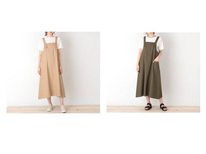 【Cutie Blonde / SHOO LA RUE/シューラルー キューティーブロンド】の【S-L】ワークジャンパースカート 【プチプライス】おすすめ!人気トレンド・ファッション通販  おすすめ人気トレンドファッション通販アイテム 人気、トレンドファッション・服の通販 founy(ファニー)  ファッション Fashion レディースファッション WOMEN スカート Skirt 2021年 2021 2021春夏・S/S SS/Spring/Summer/2021 S/S・春夏 SS・Spring/Summer おすすめ Recommend ポケット 春 Spring  ID:crp329100000042292
