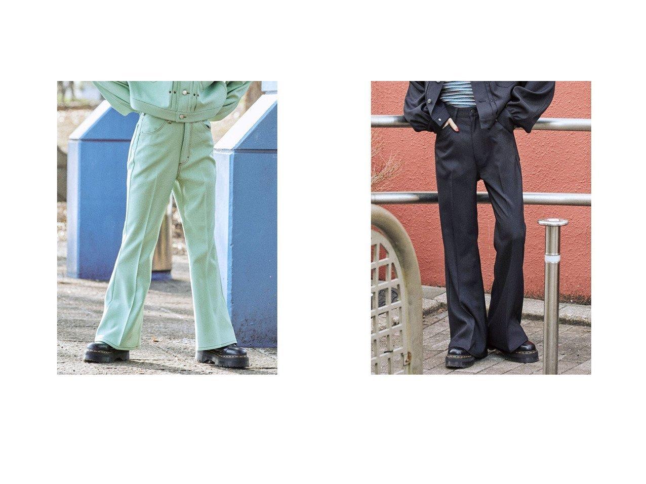 【jouetie/ジュエティ】のjouetie 【セットアップ対応】Wrangler フレアパンツ おすすめ!人気、トレンド・レディースファッションの通販 おすすめで人気の流行・トレンド、ファッションの通販商品 インテリア・家具・メンズファッション・キッズファッション・レディースファッション・服の通販 founy(ファニー) https://founy.com/ ファッション Fashion レディースファッション WOMEN セットアップ Setup パンツ Pants 2021年 2021 2021春夏・S/S SS/Spring/Summer/2021 S/S・春夏 SS・Spring/Summer おすすめ Recommend ジーンズ ストレッチ セットアップ ツイル デニム フレア 春 Spring |ID:crp329100000042314