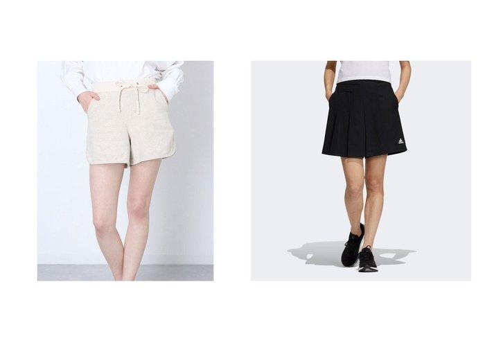 【EDWIN/エドウィン】のエドウィン ショーツ VL214S-134&【adidas/アディダス】のテック ウーブンショーツ Tech Woven Shorts おすすめ!人気、トレンド・レディースファッションの通販 おすすめ人気トレンドファッション通販アイテム 人気、トレンドファッション・服の通販 founy(ファニー) ファッション Fashion レディースファッション WOMEN ショーツ ショート ポケット 楽ちん 2021年 2021 2021春夏・S/S SS/Spring/Summer/2021 S/S・春夏 SS・Spring/Summer ストレッチ ツイル フロント プリーツ 春 Spring |ID:crp329100000042370