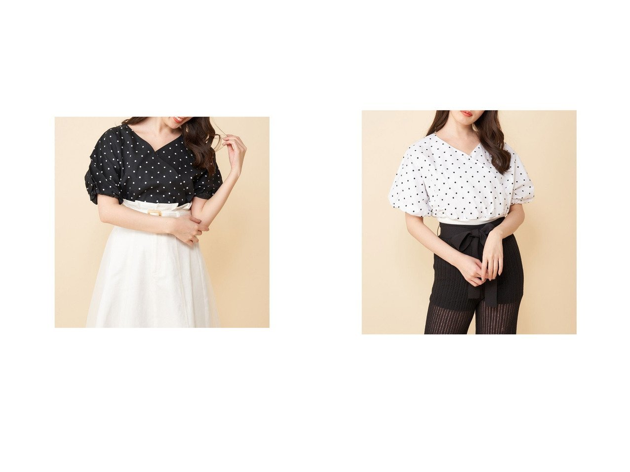 【MiiA/ミーア】のドットカシュクールブラウス おすすめ!人気、トレンド・レディースファッションの通販 おすすめで人気の流行・トレンド、ファッションの通販商品 インテリア・家具・メンズファッション・キッズファッション・レディースファッション・服の通販 founy(ファニー) https://founy.com/ ファッション Fashion レディースファッション WOMEN トップス・カットソー Tops/Tshirt シャツ/ブラウス Shirts/Blouses 2021年 2021 2021春夏・S/S SS/Spring/Summer/2021 S/S・春夏 SS・Spring/Summer クラシカル シンプル スリーブ ドット ボトム 春 Spring |ID:crp329100000042374