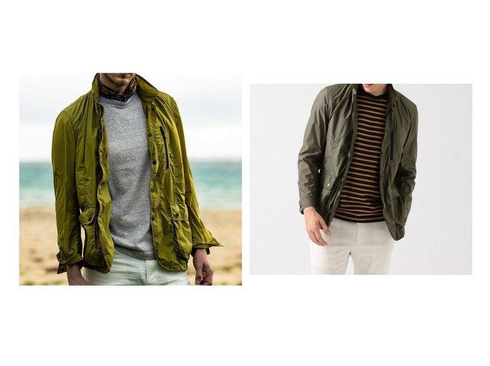 【JOSEPH ABBOUD / MEN/ジョセフ アブード】の【JOE GUARD】ライトワッシャー ブルゾン 【MEN】おすすめ!人気トレンド・男性、メンズファッションの通販 おすすめ人気トレンドファッション通販アイテム 人気、トレンドファッション・服の通販 founy(ファニー)  ファッション Fashion メンズファッション MEN アウター Coats Outerwear/Men ブルゾン Blouson/Jackets 軽量 ジャケット スタンド セーター ブルゾン ワッシャー 送料無料 Free Shipping |ID:crp329100000042507