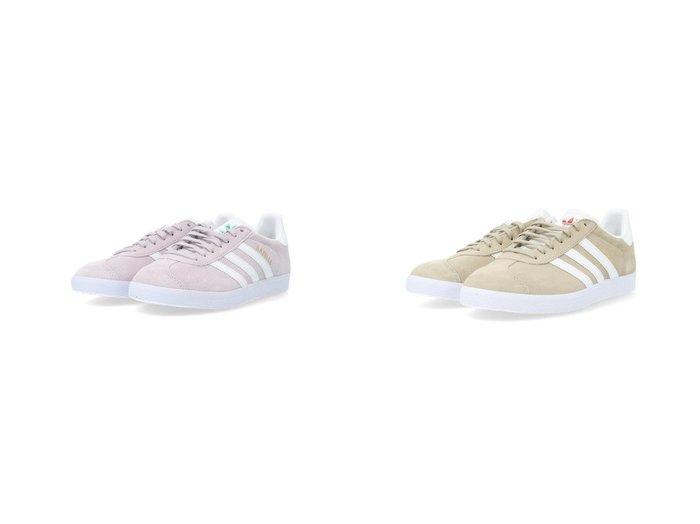 【adidas Originals/アディダス オリジナルス】のガゼル Gazelle アディダスオリジナルス 【シューズ・靴】おすすめ!人気、トレンド・レディースファッションの通販 おすすめ人気トレンドファッション通販アイテム 人気、トレンドファッション・服の通販 founy(ファニー)  ファッション Fashion レディースファッション WOMEN シューズ スエード ストライプ スニーカー スポーツ スリッポン パープル フィット ミックス メタリック レギュラー |ID:crp329100000042631