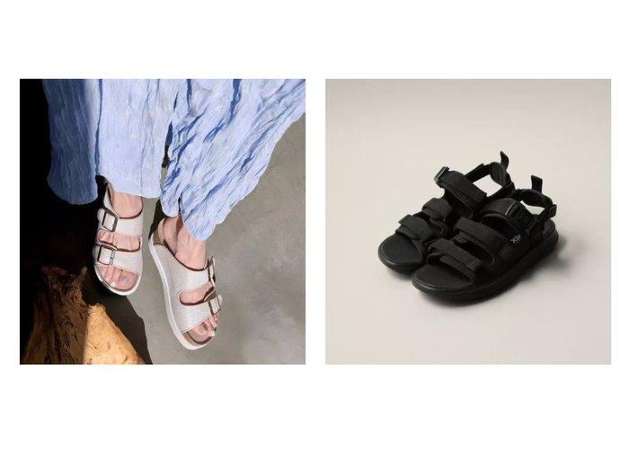 【Odette e Odile/オデット エ オディール】のNew Balance SDL750&【enchanted/エンチャンテッド】のホワイトソールダブルベルトサンダル 【シューズ・靴】おすすめ!人気、トレンド・レディースファッションの通販 おすすめ人気トレンドファッション通販アイテム 人気、トレンドファッション・服の通販 founy(ファニー) ファッション Fashion レディースファッション WOMEN ベルト Belts S/S・春夏 SS・Spring/Summer サンダル シューズ スポーツ ラップ 春 Spring ダブル フィット メタリック |ID:crp329100000042637