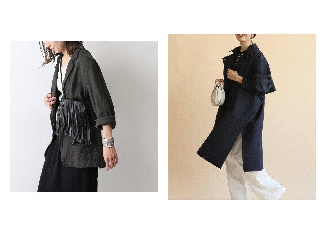 【IENA/イエナ】のPEポプリンオーバートレンチコート&【FRAMeWORK/フレームワーク】のONE WASH リネンシャツジャケット 【アウター】おすすめ!人気、トレンド・レディースファッションの通販 おすすめで人気の流行・トレンド、ファッションの通販商品 インテリア・家具・メンズファッション・キッズファッション・レディースファッション・服の通販 founy(ファニー) https://founy.com/ ファッション Fashion レディースファッション WOMEN アウター Coat Outerwear コート Coats ジャケット Jackets トレンチコート Trench Coats テーラードジャケット Tailored Jackets インナー 春 Spring ジャケット スウェット 2021年 2021 S/S・春夏 SS・Spring/Summer 2021春夏・S/S SS/Spring/Summer/2021 おすすめ Recommend |ID:crp329100000042660