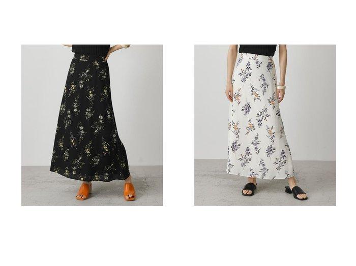 【AZUL by moussy/アズール バイ マウジー】のFLOWER NARROW SKIRT 柄WHT5 【プチプライス・低価格】おすすめ!人気トレンド・レディースファッション通販 おすすめ人気トレンドファッション通販アイテム 人気、トレンドファッション・服の通販 founy(ファニー) ファッション Fashion レディースファッション WOMEN スカート Skirt 2021年 2021 2021春夏・S/S SS/Spring/Summer/2021 S/S・春夏 SS・Spring/Summer おすすめ Recommend サンダル スニーカー フラワー プリント 春 Spring |ID:crp329100000042898