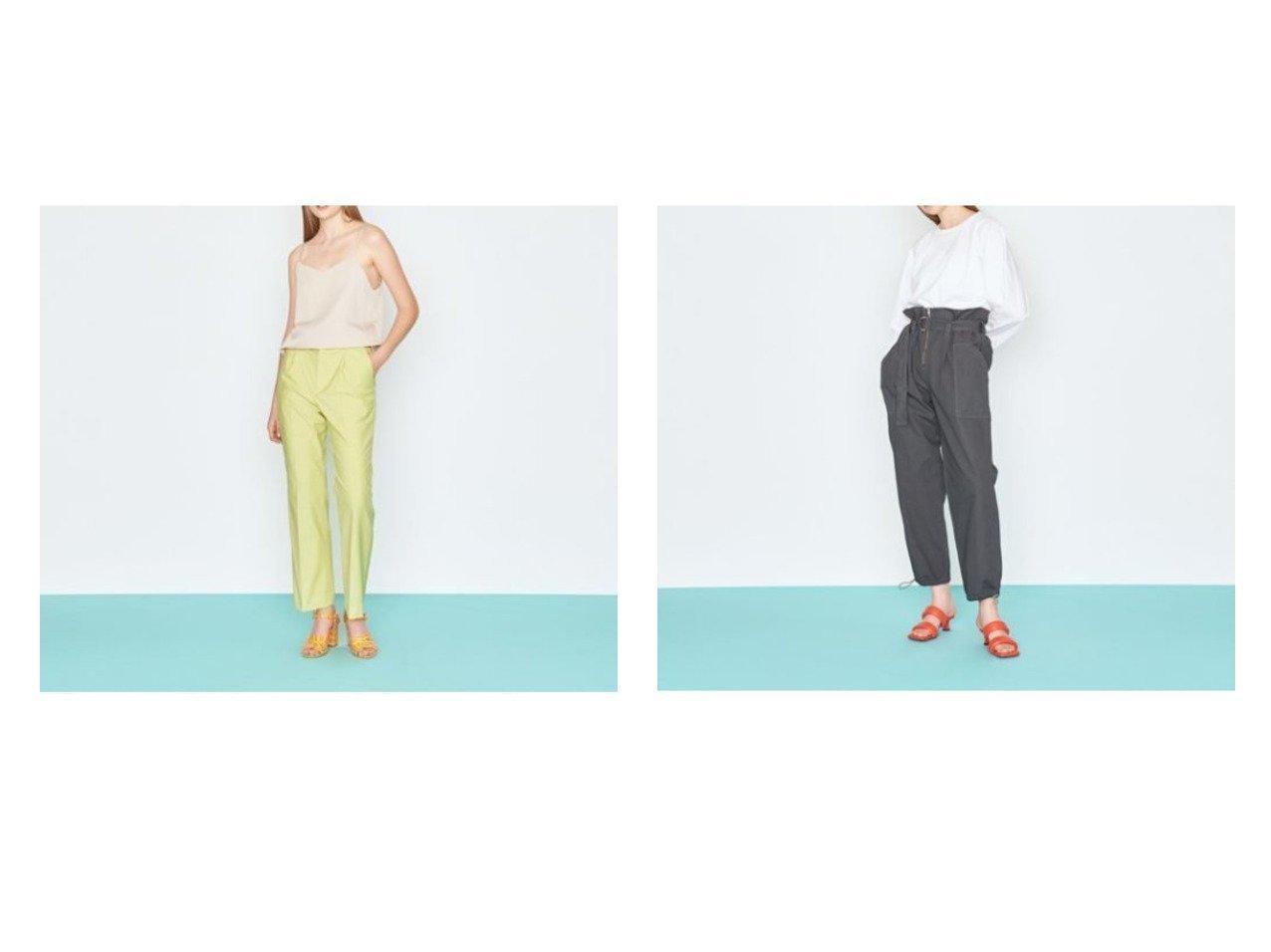 【UNITED ARROWS/ユナイテッドアローズ】のLI ストレートパンツ&2ポケット ハイウエスト ベルトパンツ 【パンツ】おすすめ!人気、トレンド・レディースファッションの通販 おすすめで人気の流行・トレンド、ファッションの通販商品 インテリア・家具・メンズファッション・キッズファッション・レディースファッション・服の通販 founy(ファニー) https://founy.com/ ファッション Fashion レディースファッション WOMEN パンツ Pants ベルト Belts ストレート センター フレア リラックス フロント ポケット  ID:crp329100000043100