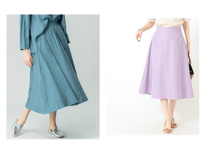 【Bshop/ビショップ】の【LE GLAZIK】リネンフレアスカート KLM WOMEN&【B:MING by BEAMS/ビーミング by ビームス】のカラー フレア スカート 21SS 【スカート】おすすめ!人気、トレンド・レディースファッションの通販 おすすめ人気トレンドファッション通販アイテム 人気、トレンドファッション・服の通販 founy(ファニー) ファッション Fashion レディースファッション WOMEN スカート Skirt Aライン/フレアスカート Flared A-Line Skirts ロングスカート Long Skirt おすすめ Recommend セットアップ フレア ミモレ リラックス ロング 人気 定番 Standard 無地 2021年 2021 2021春夏・S/S SS/Spring/Summer/2021 S/S・春夏 SS・Spring/Summer |ID:crp329100000043132