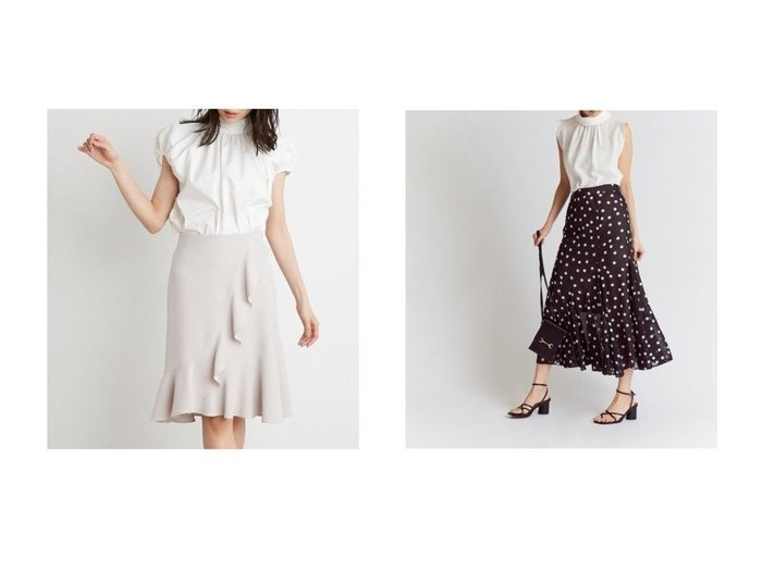 【SNIDEL/スナイデル】のヘムフレアプリントスカート&フレアミニスカート 【スカート】おすすめ!人気、トレンド・レディースファッションの通販 おすすめ人気トレンドファッション通販アイテム 人気、トレンドファッション・服の通販 founy(ファニー) ファッション Fashion レディースファッション WOMEN スカート Skirt ミニスカート Mini Skirts カットソー ギンガム サッカー スマート チェック トレンド バランス フェミニン フレア ミニスカート 無地 リュクス エレガント シフォン シンプル ドット フィット プリント  ID:crp329100000043140
