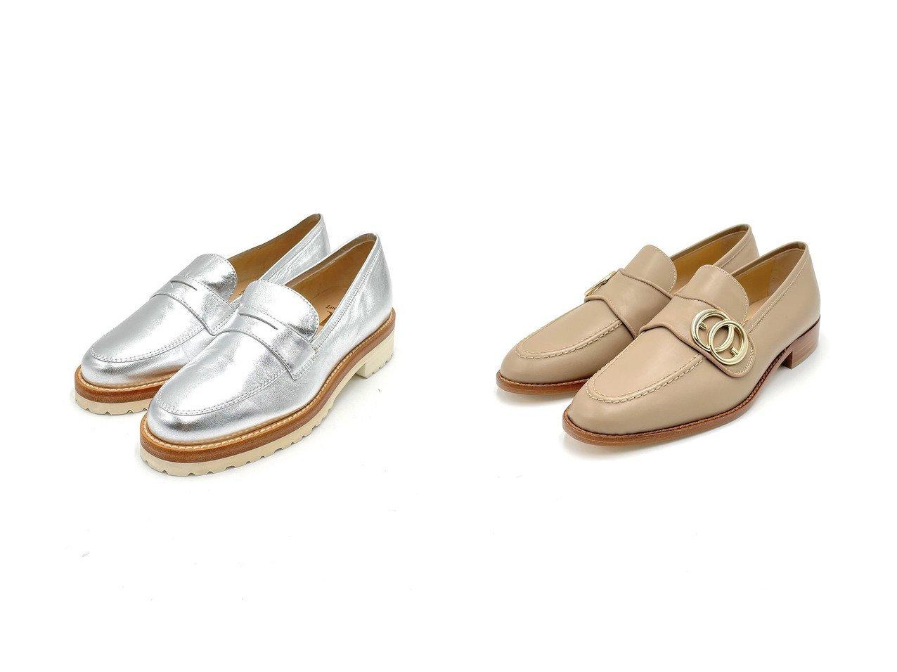 【LucaGrossi/ルカグロッシ】のラギットソールコインローファー&リングバックルローファー 【シューズ・靴】おすすめ!人気、トレンド・レディースファッションの通販 おすすめで人気の流行・トレンド、ファッションの通販商品 インテリア・家具・メンズファッション・キッズファッション・レディースファッション・服の通販 founy(ファニー) https://founy.com/ ファッション Fashion レディースファッション WOMEN バッグ Bag アウトドア イタリア シューズ フラット  ID:crp329100000043150