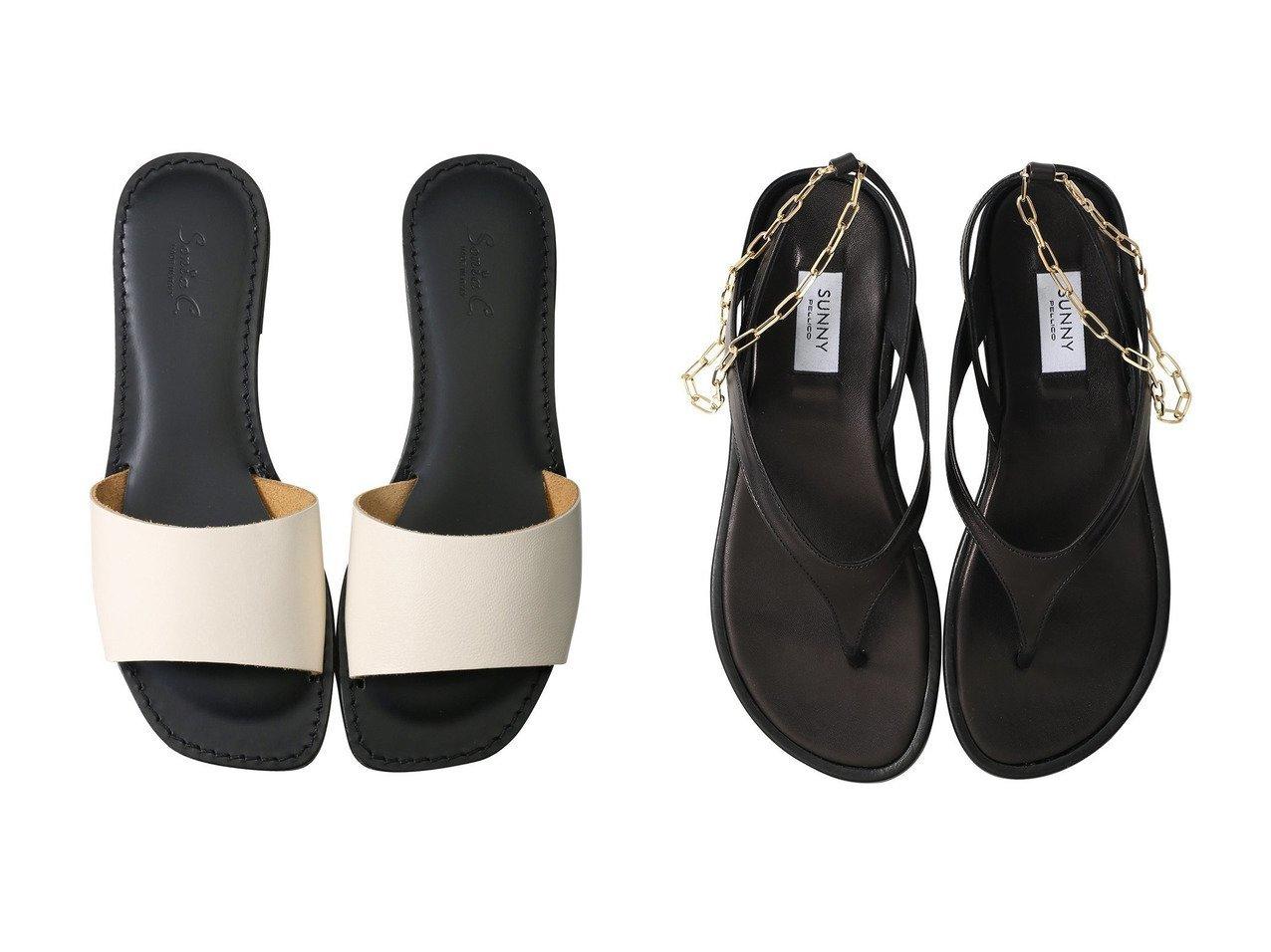 【martinique/マルティニーク】の【PELLICO SUNNY】チェーンストラップサンダル&【Esmeralda/エスメラルダ】の【Sonia C】スクエアスライドサンダル 【シューズ・靴】おすすめ!人気、トレンド・レディースファッションの通販 おすすめで人気の流行・トレンド、ファッションの通販商品 インテリア・家具・メンズファッション・キッズファッション・レディースファッション・服の通販 founy(ファニー) https://founy.com/ ファッション Fashion レディースファッション WOMEN サンダル シンプル フラット エレガント チェーン ラップ 今季  ID:crp329100000043151