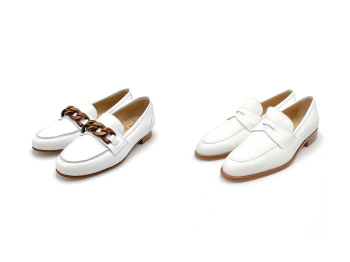 【LucaGrossi/ルカグロッシ】のコインローファー&チェーンビットローファー 【シューズ・靴】おすすめ!人気、トレンド・レディースファッションの通販 おすすめ人気トレンドファッション通販アイテム 人気、トレンドファッション・服の通販 founy(ファニー) ファッション Fashion レディースファッション WOMEN イタリア シューズ チェーン フラット |ID:crp329100000043152