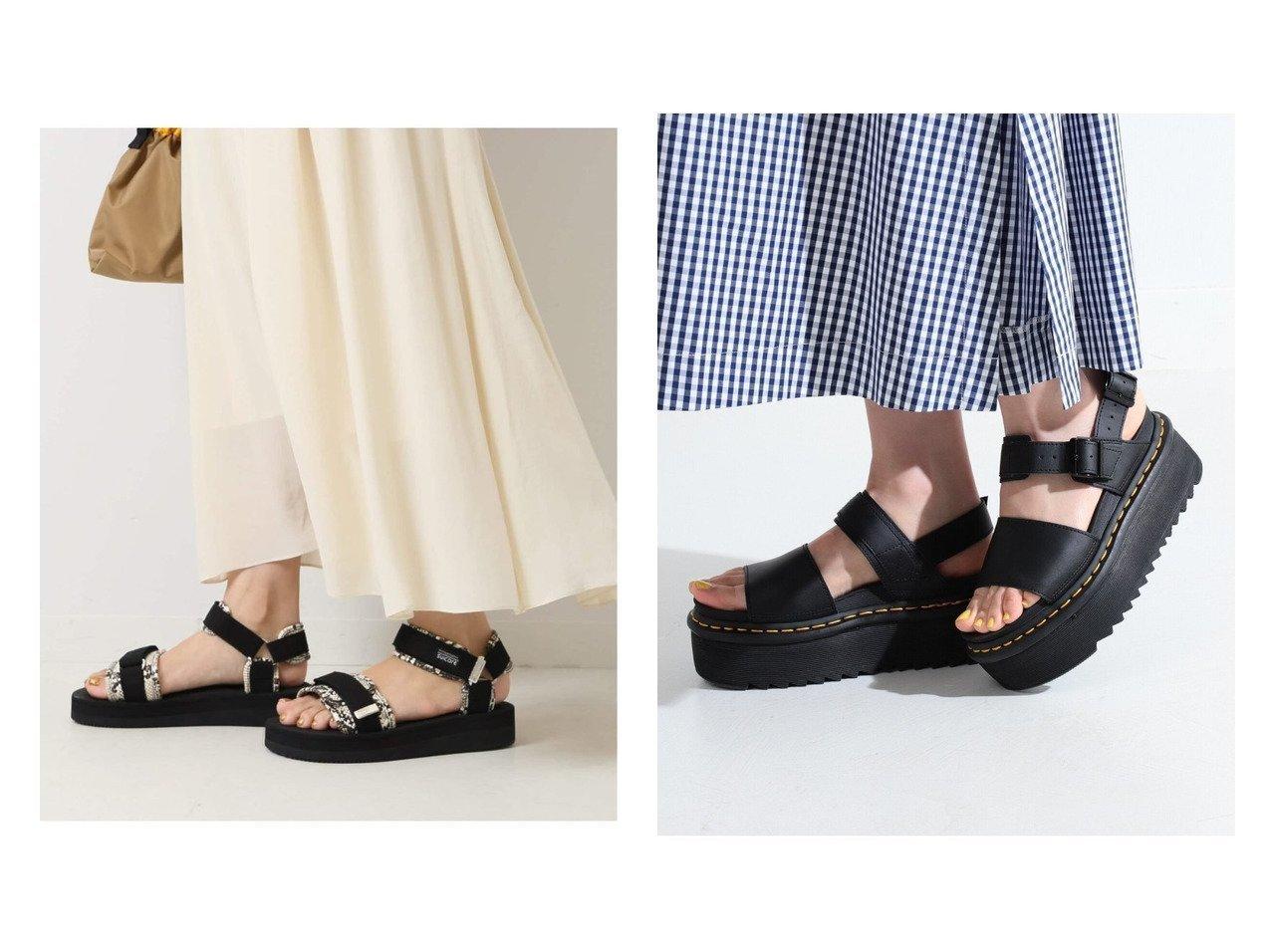 【Ray BEAMS/レイ ビームス】のDr. VOSS QUAD サンダル&【Spick & Span/スピック&スパン】の【SUICOKE】CEL-VPO SS 【シューズ・靴】おすすめ!人気、トレンド・レディースファッションの通販 おすすめで人気の流行・トレンド、ファッションの通販商品 インテリア・家具・メンズファッション・キッズファッション・レディースファッション・服の通販 founy(ファニー) https://founy.com/ ファッション Fashion レディースファッション WOMEN 2021年 2021 2021春夏・S/S SS/Spring/Summer/2021 S/S・春夏 SS・Spring/Summer おすすめ Recommend サンダル シューズ パイソン ミュール 人気 厚底 クッション コレクション フィット ラップ 定番 Standard 軽量  ID:crp329100000043158