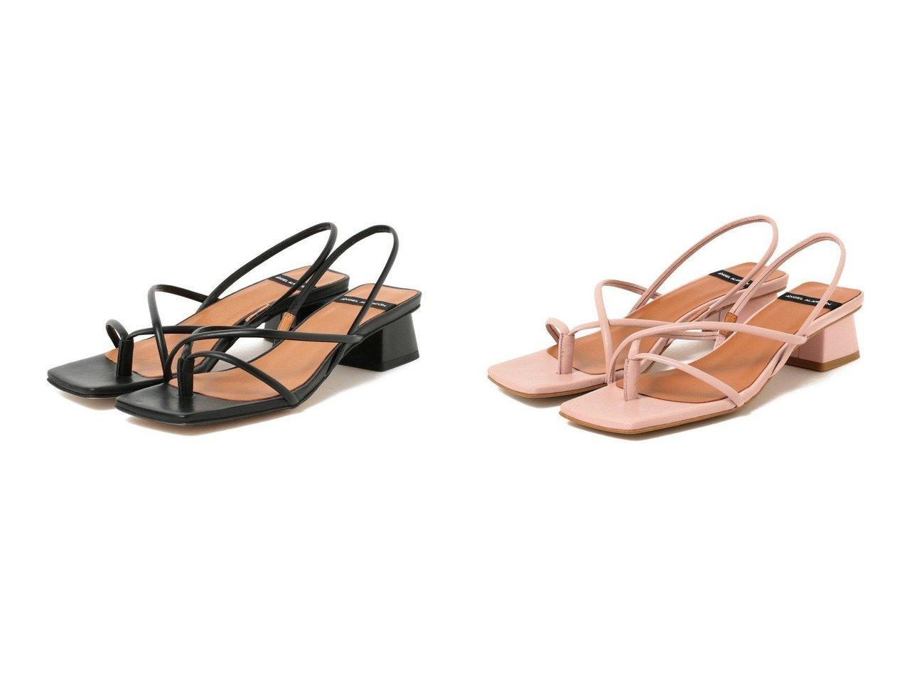 【Demi-Luxe BEAMS/デミルクス ビームス】のコードストラップ サンダル 【シューズ・靴】おすすめ!人気、トレンド・レディースファッションの通販 おすすめで人気の流行・トレンド、ファッションの通販商品 インテリア・家具・メンズファッション・キッズファッション・レディースファッション・服の通販 founy(ファニー) https://founy.com/ ファッション Fashion レディースファッション WOMEN NEW・新作・新着・新入荷 New Arrivals S/S・春夏 SS・Spring/Summer クール コレクション サンダル シューズ スクエア フレア ミュール モダン ラップ 春 Spring  ID:crp329100000043160