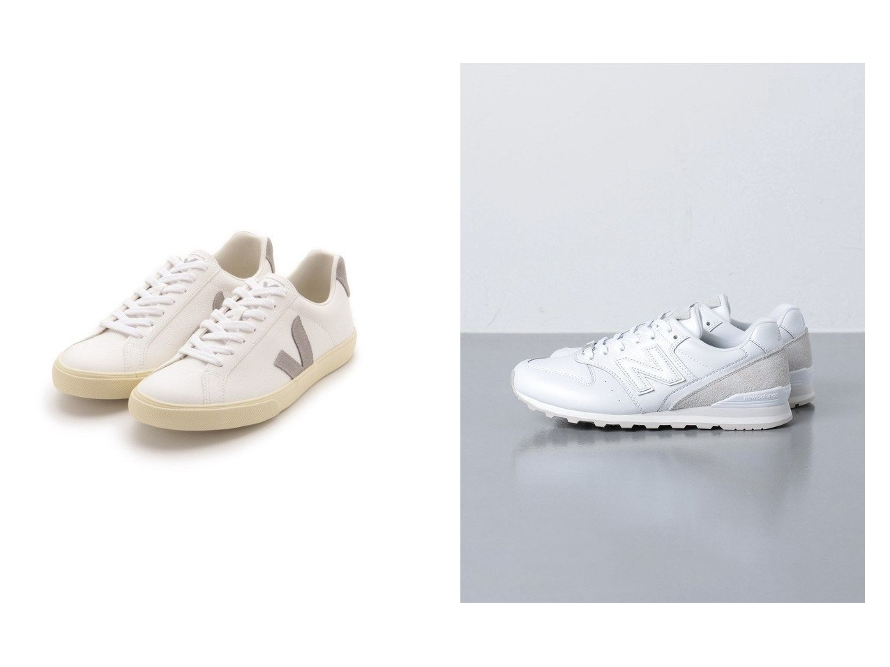 【emmi/エミ】の【Veja】ESPLAR&【UNITED ARROWS/ユナイテッドアローズ】のNew Balance(ニューバランス) WL996 スニーカー 【シューズ・靴】おすすめ!人気、トレンド・レディースファッションの通販 おすすめで人気の流行・トレンド、ファッションの通販商品 インテリア・家具・メンズファッション・キッズファッション・レディースファッション・服の通販 founy(ファニー) https://founy.com/ ファッション Fashion レディースファッション WOMEN クラシカル シューズ シンプル スニーカー スリッポン シェイプ 人気 バランス フィット ボストン NEW・新作・新着・新入荷 New Arrivals  ID:crp329100000043164